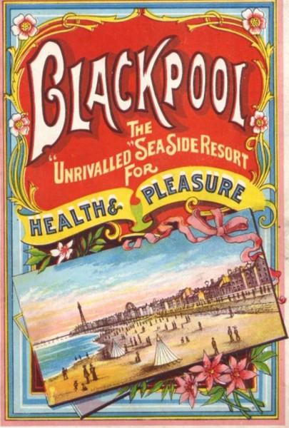Blackpool Postcards Vintage Postcards Theatre